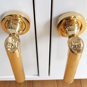 Versace Gold Medusa Door Handles